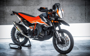 супербайк, мотоциклы 2020 года, ktm 990 sm t, ktm, 2020 ktm 990 sm t, студия