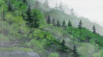 камни, зеленый, природа, растение, деревья, 2020, calendar, пейзаж