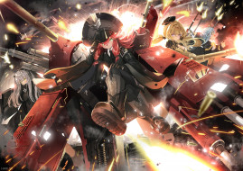 ash arms, аниме, оружие,  техника,  технологии, война, пушки, солдаты, девушки, ash, arms
