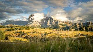 природа, горы, доломитовые, альпы