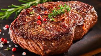 еда, мясные блюда, ростбиф