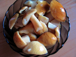 еда, грибы,  грибные блюда, боровики