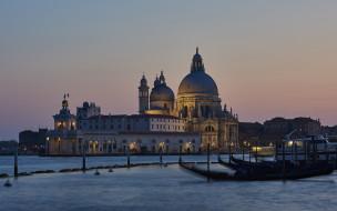 santa maria della salute, города, венеция , италия, santa, maria, della, salute