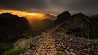 природа, горы, португалия, мадейра
