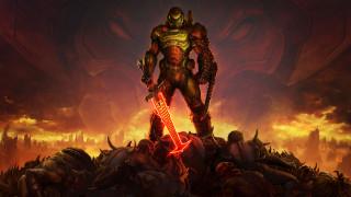 броня, DOOM Eternal, солдат