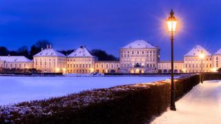 города, мюнхен , германия, мюнхен, дворец, нимфенбург