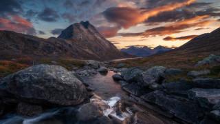 природа, горы, норвегия