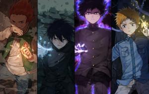 аниме, mob psycho 100, mob, psycho, 100