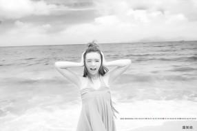 девушка, эмоции, 2020, calendar, водоем, вода