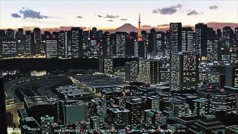 calendar, 2020, ночь, здание, город, дом, архитектура, небоскреб