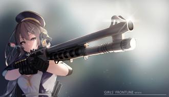 обои для рабочего стола 2000x1152 аниме, girls frontline, girls, frontline