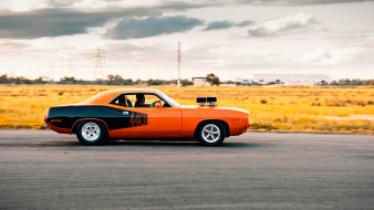 автомобили, plymouth, 1971, barracuda, 440