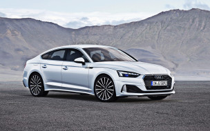 2020 audi a5 sportback, автомобили, audi, белый, offroad, немецкие, 2020, a5, sportback, премиум, класс