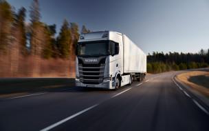 2020 scania 500s, автомобили, scania, грузовик, трасса, фура, 500s, грузовые, перевозки