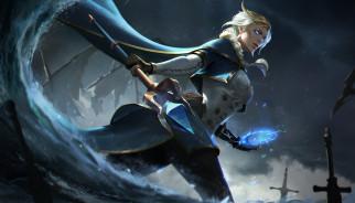 видео игры, world of warcraft, посох, магия, униформа, jaina, proudmoore, фон, девушка