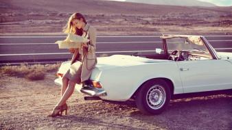 автомобили, -авто с девушками, adela, сapova, модель, знаменитости, кабриолет, карта