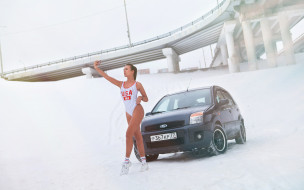 автомобили, -авто с девушками, ford, fusion