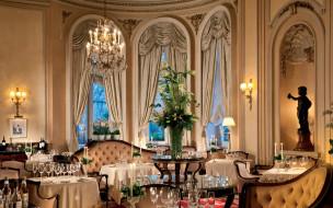 интерьер, кафе,  рестораны,  отели, столы, свечи, приборы