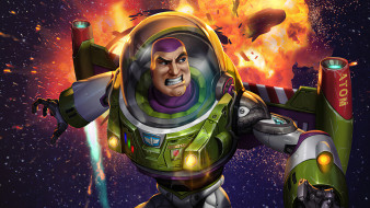 мультфильмы, toy story 4, buzz, light, year