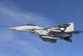 МИГ- 29, боевой, самолёт, полёт, истребитель
