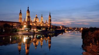 города, сарагоса , испания, сарагоса