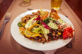 еда, вторые блюда, овощи, курица