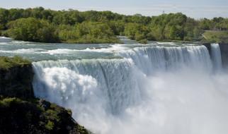 природа, водопады, вода, река, водопад, брызги, пена, пейзаж, красота, туман, водная, пыль