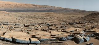 космос, марс, планета, вселенная, поверхность, грунт, камни, красная, горизонт, пространство, пустыня