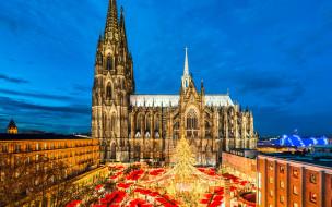 города, кельн , германия, собор