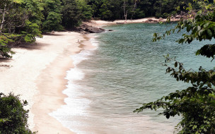 природа, побережье, вода, пляж