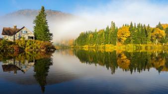 природа, реки, озера, канада, квебек