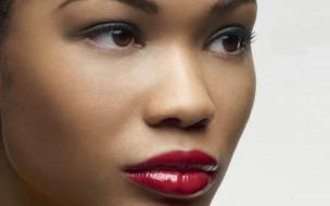 chanel iman, девушки, chanel, iman, девушка, мулатка, темнокожая, чернокожая, красотка, брюнетка, лицо, портрет, взгляд, макияж