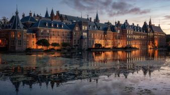 города, гаага , нидерланды, гаага