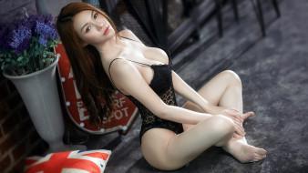 девушки, -unsort , азиатки, красивая, девушка