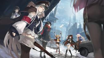 аниме, girls frontline, girls, frontline