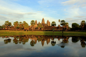 angkor wat cambodia, города, - буддийские и другие храмы, angkor, wat, cambodia