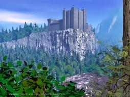 крепость, архитектура, гора, природа, здание, calendar, 2020