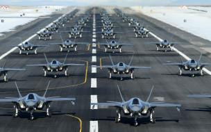 lockheed martin f-35 lightning ii, авиация, боевые самолёты, lockheed, martin, f-35, lightning, ii, f-35a, ctol, американские, истребители, ввс, сша, военный, аэродром