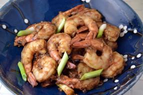 еда, рыбные блюда,  с морепродуктами, креветки, китайская, кухня