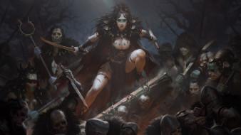 фэнтези, нежить, воины, племя