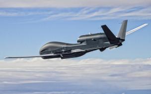 northrop grumman rq-4 global hawk, авиация, экспериментальные самолёты, northrop, grumman, rq-4, global, hawk, беспилотное, воздушное, транспортное, средство, нато, американский, стратегический, бпла, ввс, сша
