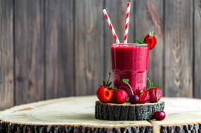 еда, напитки, смузи, ягоды
