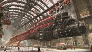 фэнтези, транспортные средства, фантастика, необычный, поезд