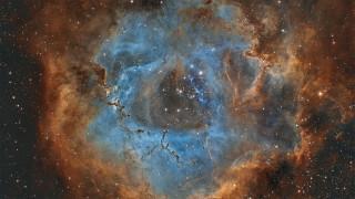 космос, галактики, туманности, туманность, розетка