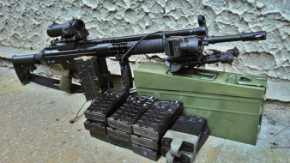 оружие, пулемёты, hk, g3a3