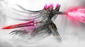 существо, фон, меч, магия
