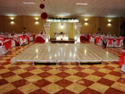ресторан, сервировка, свадебная