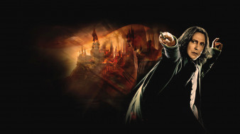 кино фильмы, harry potter and the deathly hallows,  part ii, хогвардс, гарри, поттер, северус, снейп