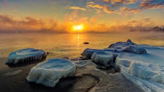 природа, айсберги и ледники, финляндия