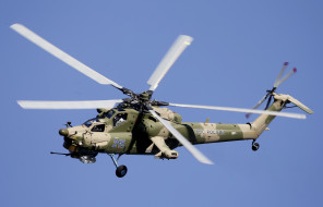Ми- 28Н, вертолёт, полёт, боевой, ночной охотник